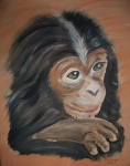 Affe für Simone