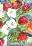 1bunte Tulpen