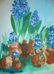 Blumenzwiebel-Kinder