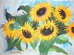 Sonnenblumen für Wilfried