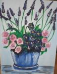 Lavendel im Topf I