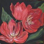 rote Tulpen für Wilfried