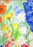 bunte Blumen für Mady