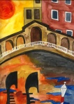 Venedig Brücke