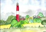 Leuchtturm in Kampen