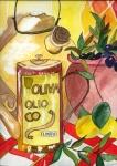 Öl und Oliven
