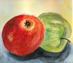 Äpfel Trilogie II - bereits abgepflückt