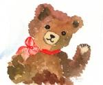 Teddy winkend